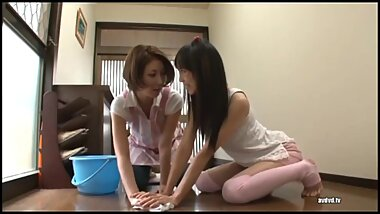 Asian Schoolgirl Turns StepMom Into Her Lesbian Slut - Part 4